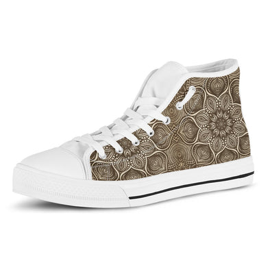Mandala Handcrafted High Tops