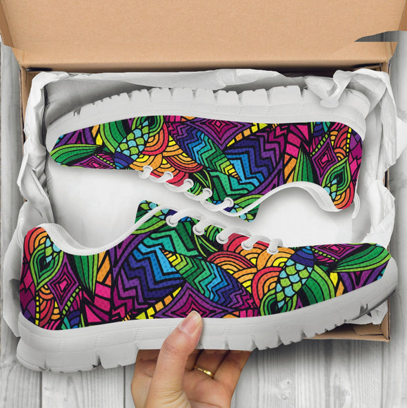 Funky N Colorful Handcrafted Sneakers