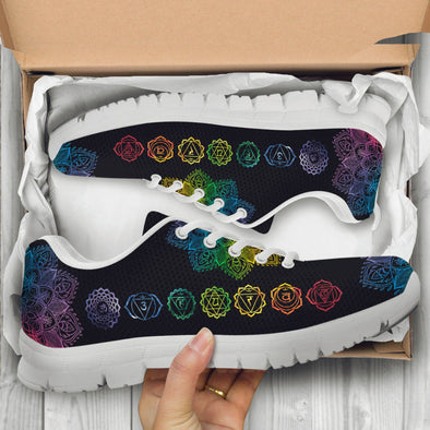 Colorful Chakra Handcrafted Sneakers