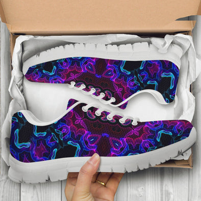Psychedelic Art 4 Handcrafted Sneakers