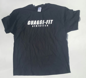 Black Guaggi Athletics Tee