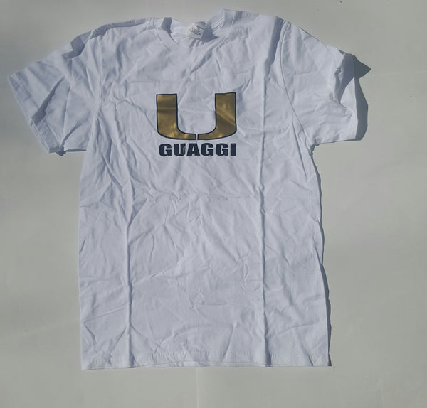 White Univ of Guaggi Tee