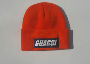 Orange/Navy Motion Skully