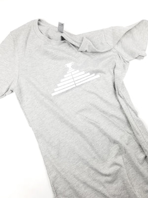 Womens Small Trophy T - Grey