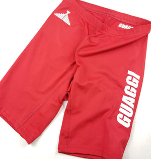 "Womens ""GO"" Biker Short - Red"