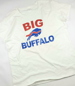 Mens BIG BUFFALO T - White