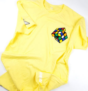 "Mens ""Figure It Out"" Rubiks T - Banana"