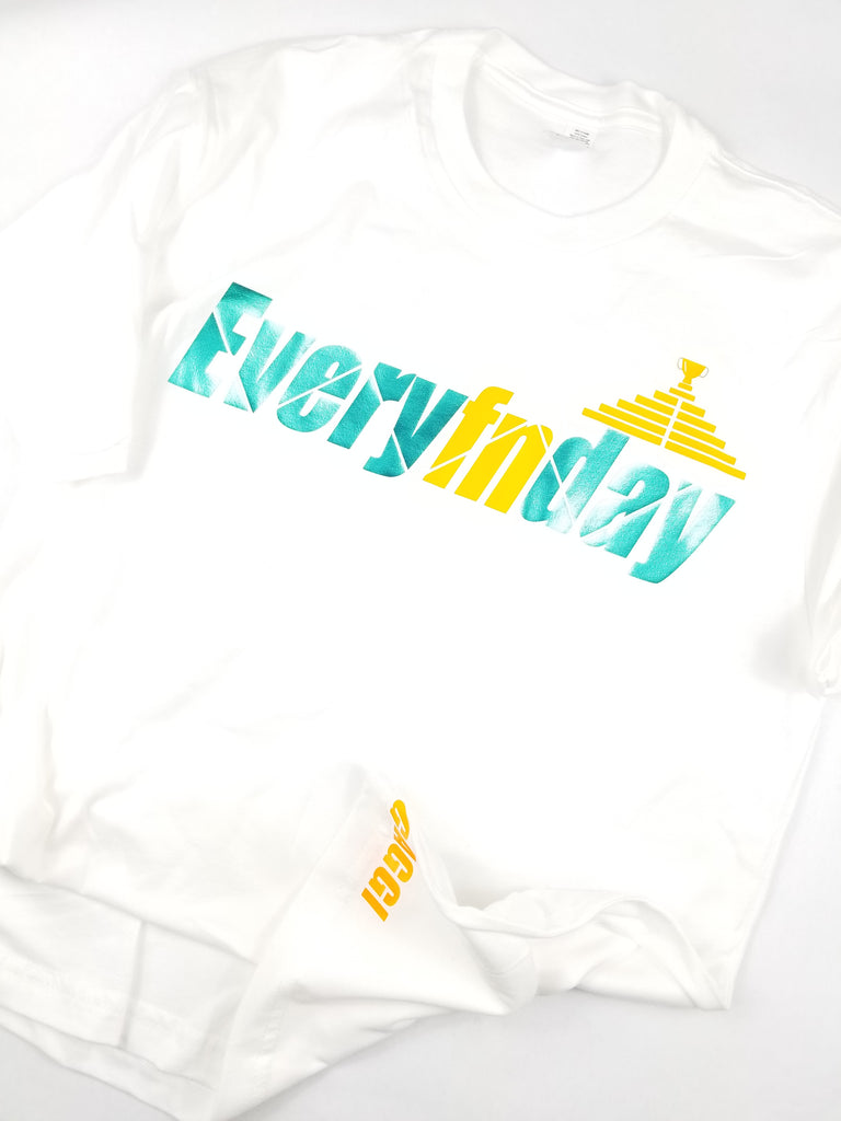 Mens Everyfnday - White/Teal