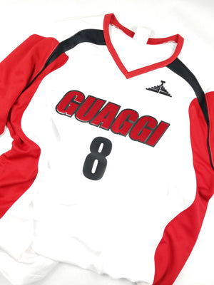 Mens GLS Jersey - White/Red/Black