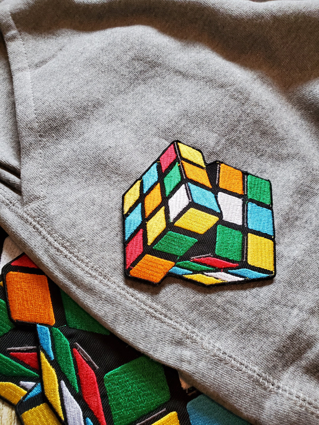 "*Rubikon* ""Figure It Out"" 3D Embroidered Joggers"