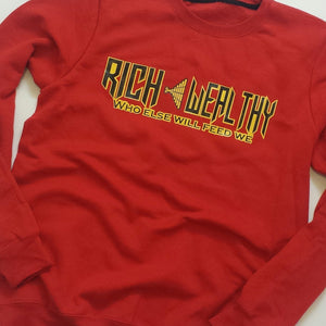Red - Rich < Wealthy