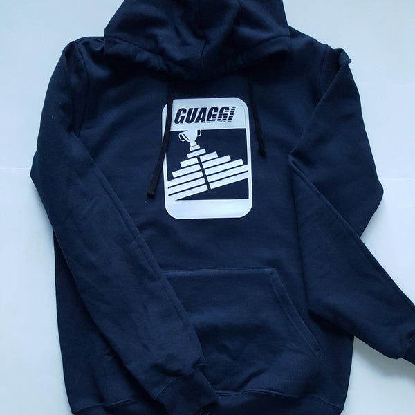 Navy Blue Digital Motion Hoodie