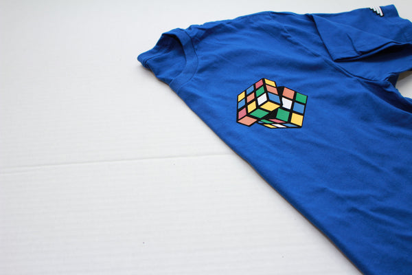 "Rubiks ""Figure It Out"" Tee - Royal Blue"