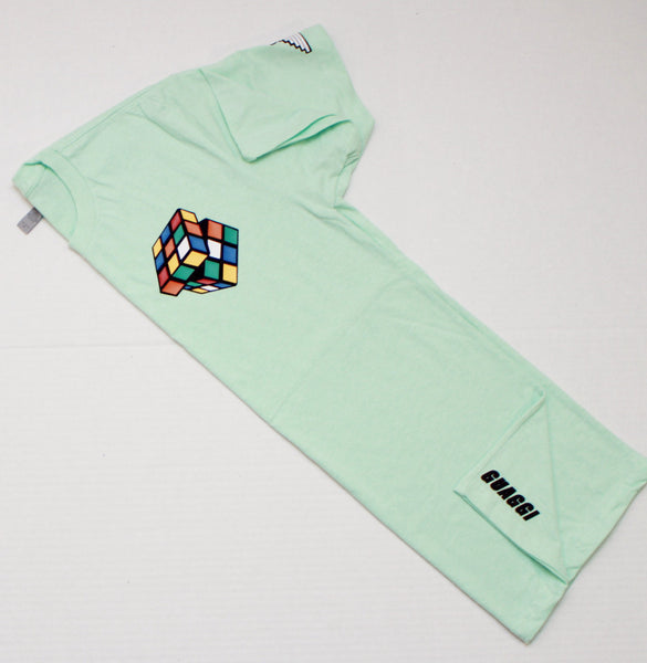 "Rubiks ""Figure It Out"" Tee - Mint"