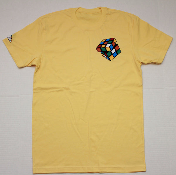"Rubiks ""Figure It Out"" Tee - Banana"