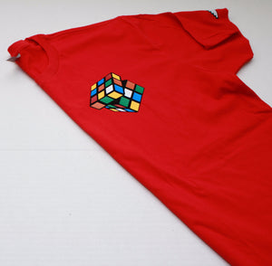 "Rubiks ""Figure It Out"" Tee - Red"