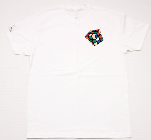 "Rubiks ""Figure It Out"" Tee - White"