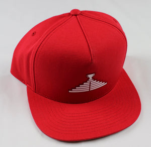 Logo Snapback Hat - Red