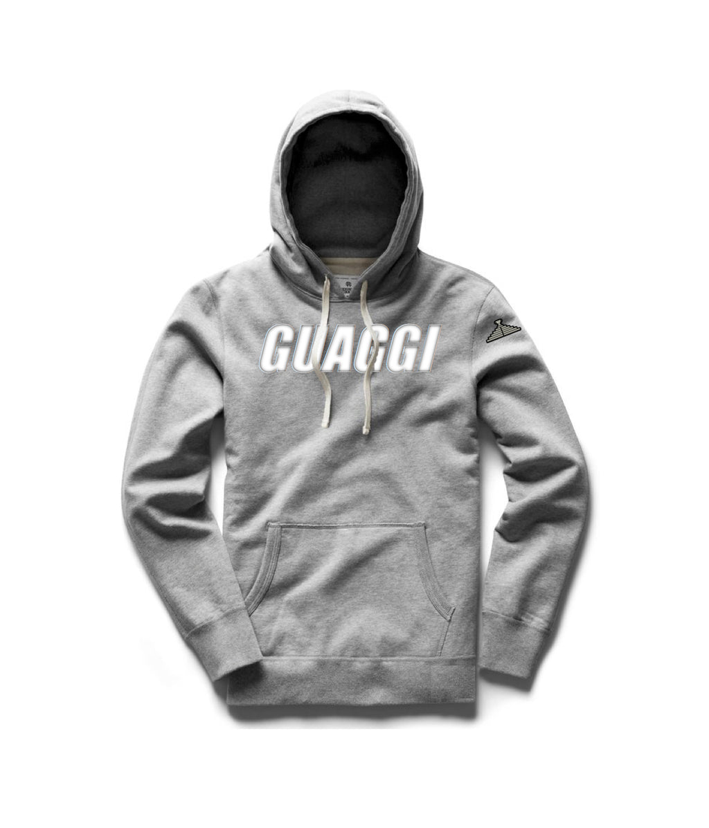 Motion Hoodie(Mens Only) - Grey (Choose Logo Color)