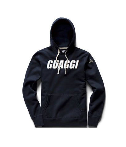 Motion Hoodie - Navy (Choose Logo Color)