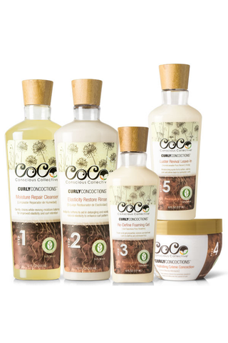 CoCo|Conscious Collective Curly Concoctions™ Holistic Curly Hair Care System