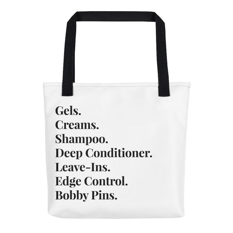 Beauty Supply Shopping Tote