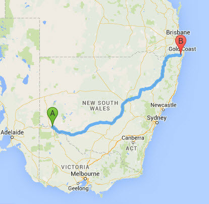 Accommodation Tips from a Digital Nomad in Australia - Mildura to Lismore