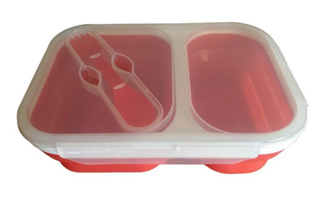 2 Compartment Lunch / Entertaining Dish