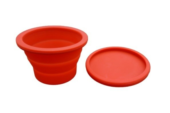 Storage Container - Silicone Collapsible Snack Container / Cup