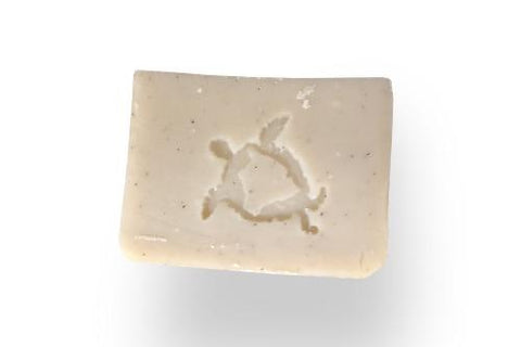 Nohea light colored creamy soap with strong forest scent