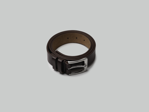 BROWN SQUARE BELT - Courtly Australia