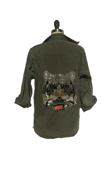 Lion Military Jacket