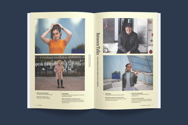 Live Magazine Issue 01 / Design Thinkers 2018