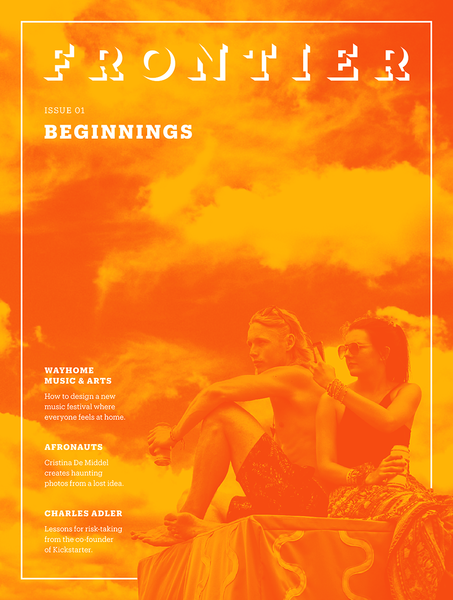 Frontier Magazine Issue 01 / Beginnings