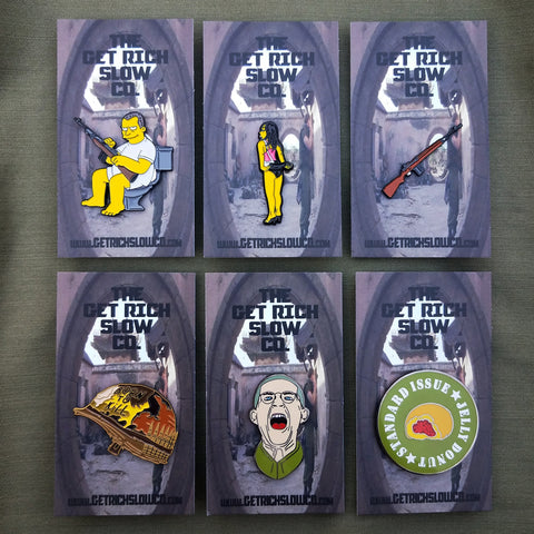 FULL METAL JACKET PIN SET