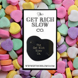 "NO SCREENSHOTS CANDY HEART 1.5"" PIN"