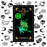 "WITCH TABITHA 1.5"" GLOW-IN-THE-DARK PIN"