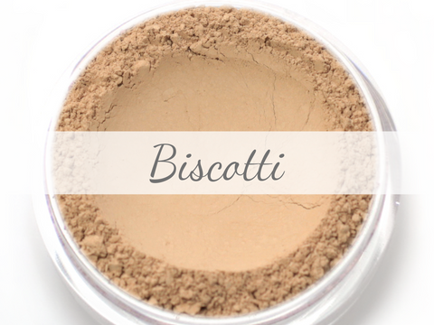 """Biscotti"" - Delicate Mineral Powder Foundation - Etherealle"