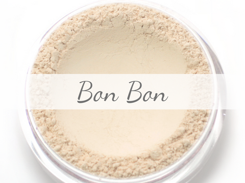 """Bon Bon"" - Delicate Mineral Powder Foundation - Etherealle"