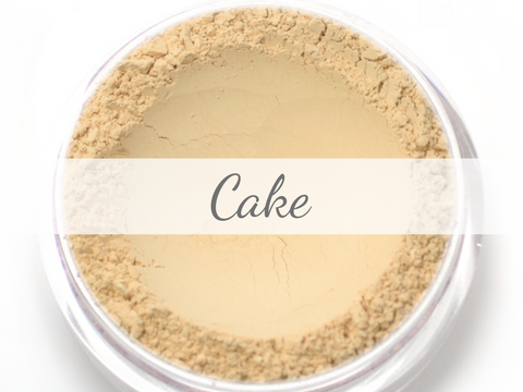 """Cake"" - Delicate Mineral Powder Foundation - Etherealle"