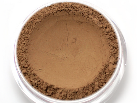 """Cocoa"" - Delicate Mineral Powder Foundation - Etherealle"