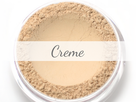 """Creme"" - Delicate Mineral Powder Foundation - Etherealle"