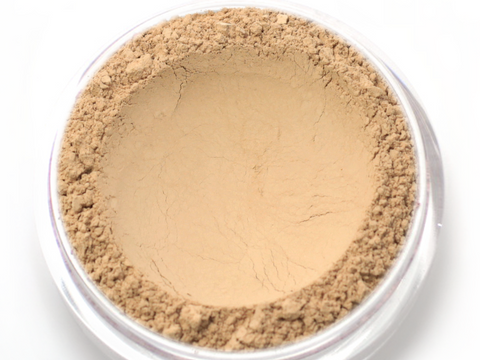 """Custard"" - Delicate Mineral Powder Foundation - Etherealle"