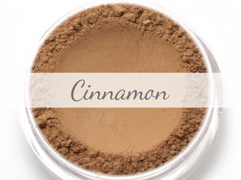 """Cinnamon"" - Mineral Wonder Powder Foundation - Etherealle"