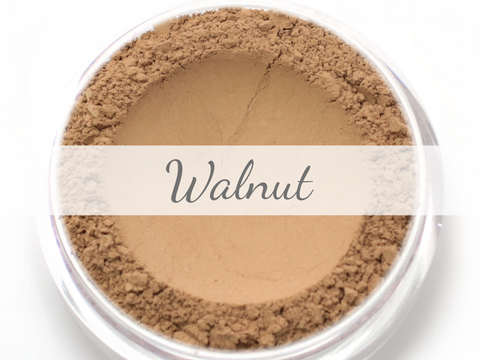 """Walnut"" - Delicate Mineral Powder Foundation - Etherealle"