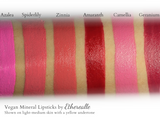 """Camellia"" - Mineral Lipstick - Etherealle"