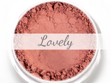 """Lovely"" - Mineral Blush - Etherealle"