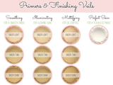 """Sheer Tan"" - Smoothing Mineral Primer & Finishing Veil - Etherealle"