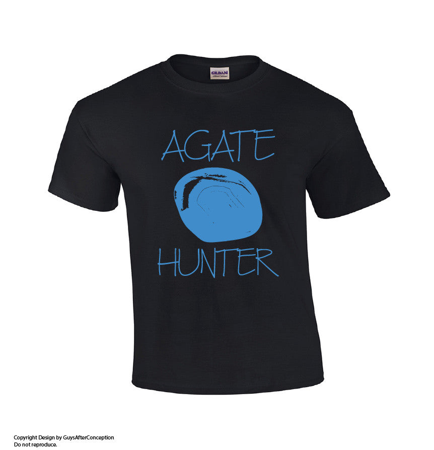 Agate Hunter-Dad Shirts-Mens T-shirts