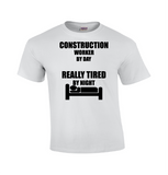 Construction Worker By Day... | Funny T-shirt-Dad Shirts-Mens T-shirts